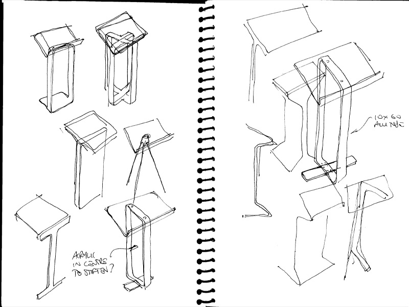 plans for building a wood podium